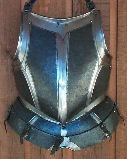 German Black and White Cuirass